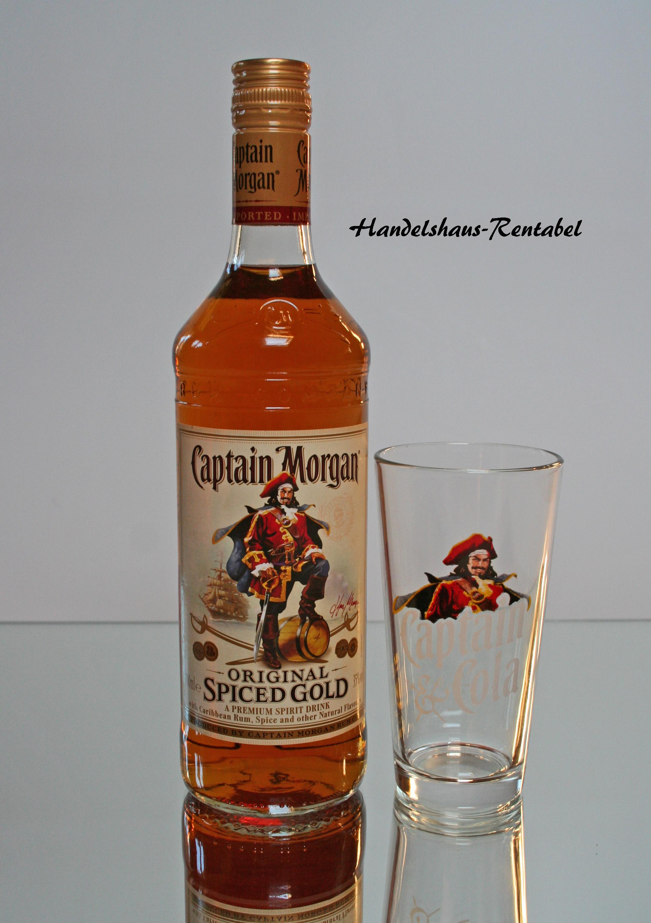 captain morgan spiced gold rum 35 0 0 7 ltr original. Black Bedroom Furniture Sets. Home Design Ideas